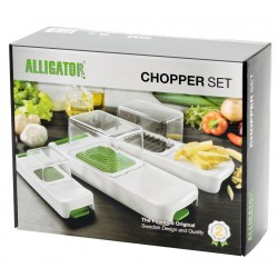 Set Coupe-Légumes Chopper ALLIGATOR - ALL-3002