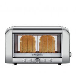 """Toaster Extra-Large 2 Tranches 1450W """"Vision"""" MAGIMIX - 11538"""