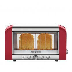 """Toaster pour 2 Tranches 1450W """"Vision"""" Rouge MAGIMIX - 11540"""