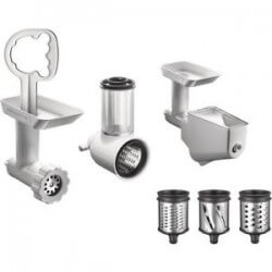 Coffret Trancher-Raper-Hacher- Extracteur KITCHENAID