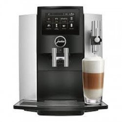 JURA MACHINE A CAFE S8 MOONLIGHT SILVER