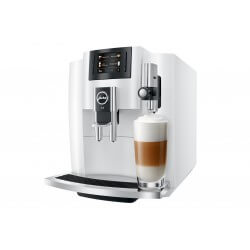 Machine Espresso Piano White JURA E8