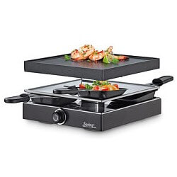 Raclette 650W Black 4 Classic SPRING