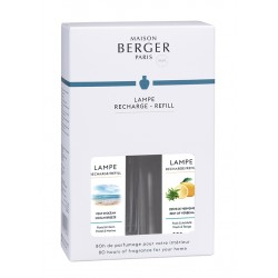 Pack Recharge lampe Cercle Duo 2x250ml BERGER – 23973