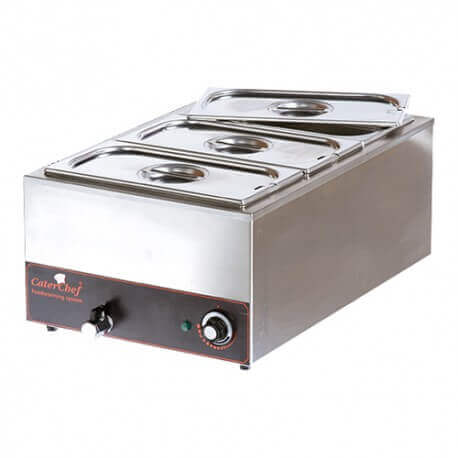 Bain marie 3xGN1/3 CATERCHEF 688030COMPLET