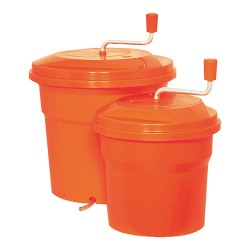Essoreuse salade 10L - 32cm DYNAMIC orange - 551005