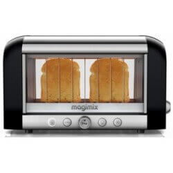 """Toaster 2 Tranches 1450W """"Vision"""" Noir MAGIMIX - 11541"""