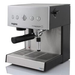 Machine Expresso MAGIMIX Auto Chrome Mat 11414